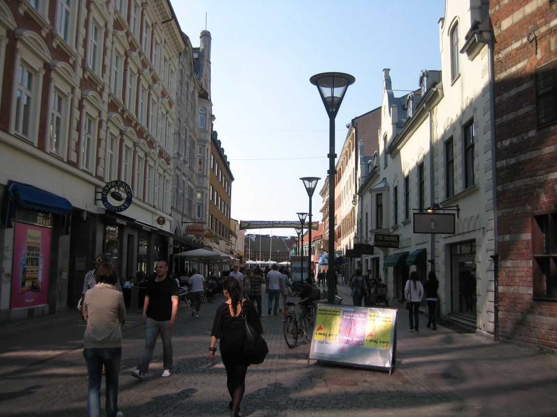 Malmö mall runs right through the city. With an assortment of high street brands, cafés and restaurant there is something for everyone.