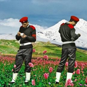 Photo by Nermine Hammam, 'The Break', from the series 'Upekkha', 2011. Courtesy of V&A