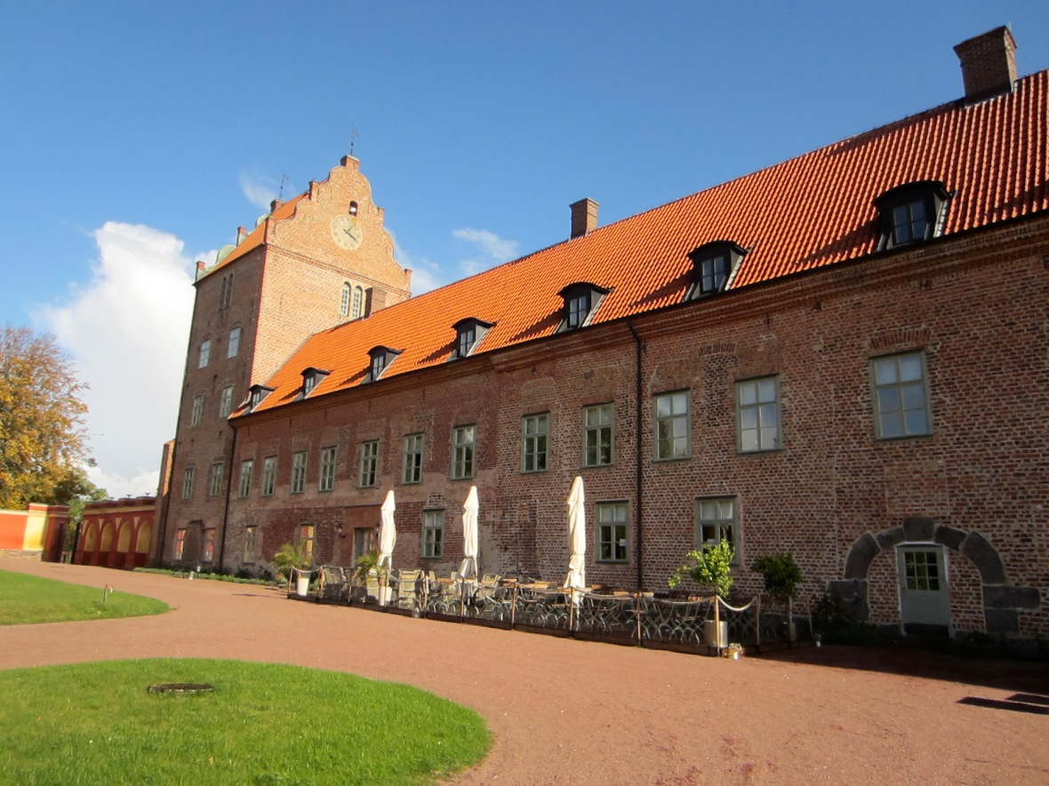 "Bäckaskog Slott, Skåne, SwedenRandom fact: This season of Swedish TV show: ""Stars at the castle"" - Where a group of domestic celebrities gather to share life stories - is set here. No famous people when I visited, but a group of people collecting fallen walnuts from the trees in the park..."