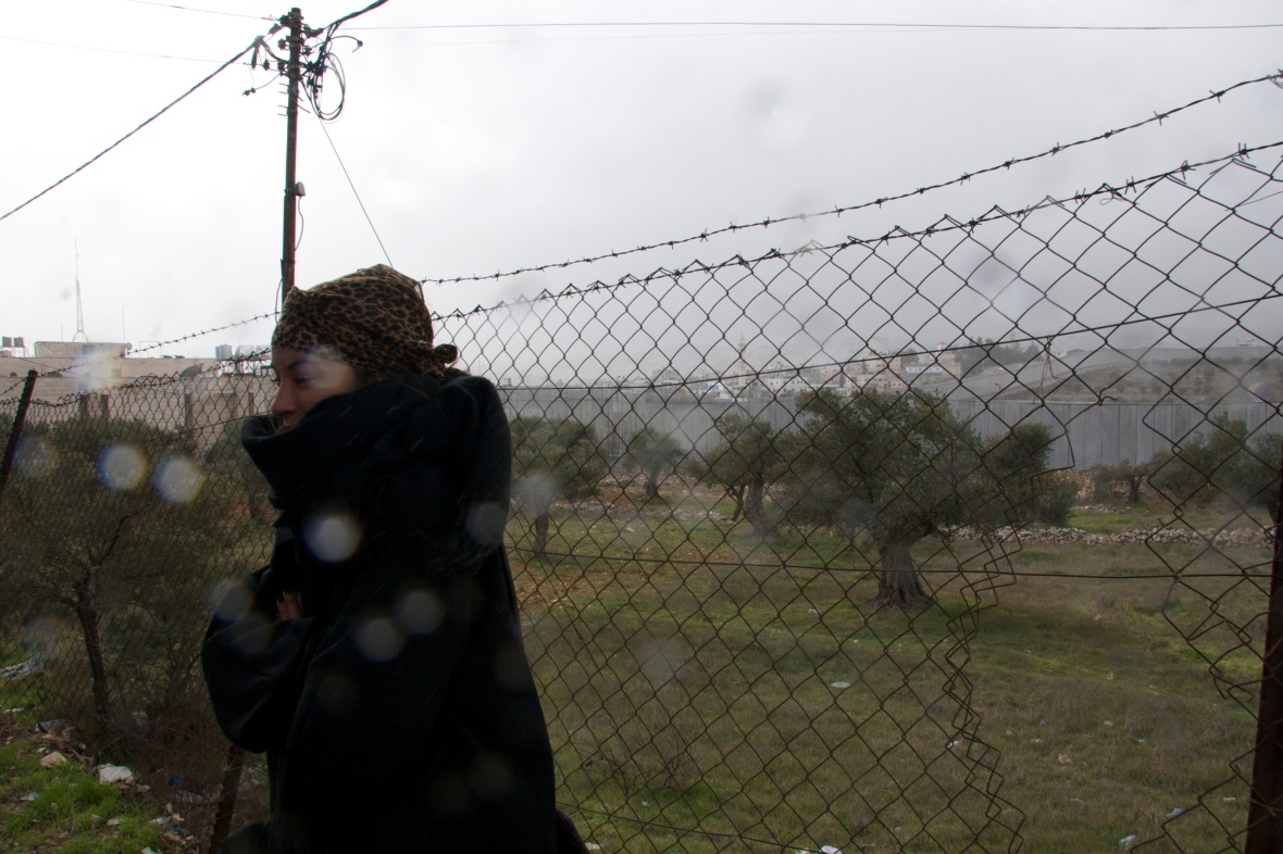 Fence after crossing border between Israel and PalestinePhoto: Sophie Göst