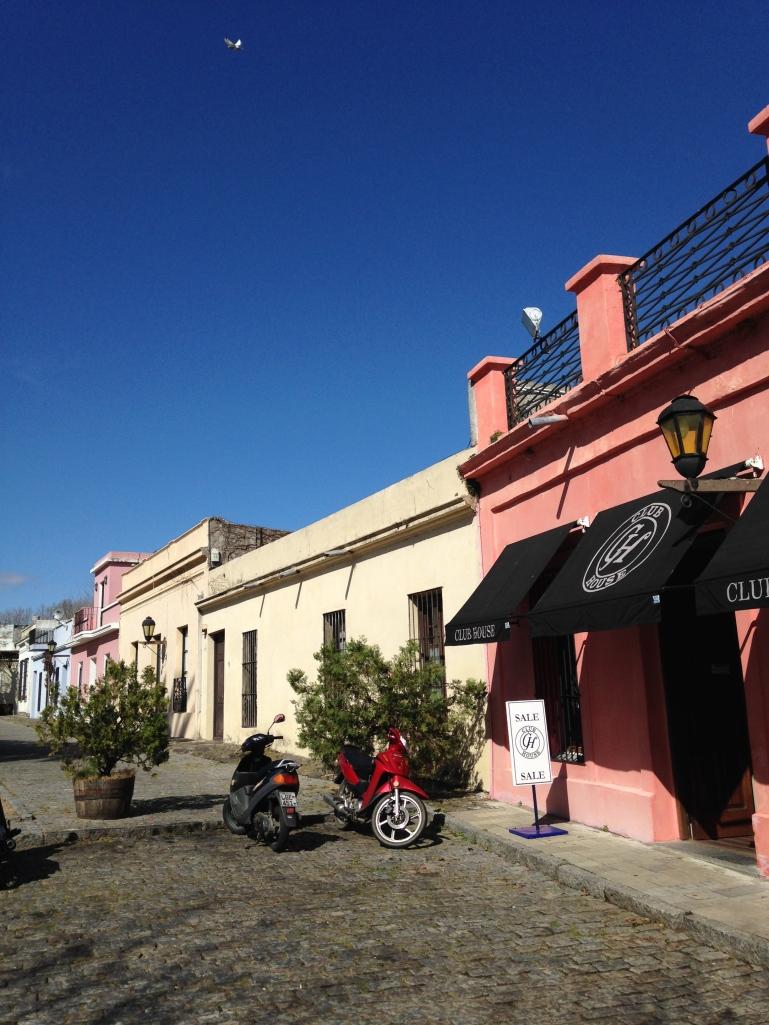 Coble stone streets, Colonia del Sacramento, Uruguay