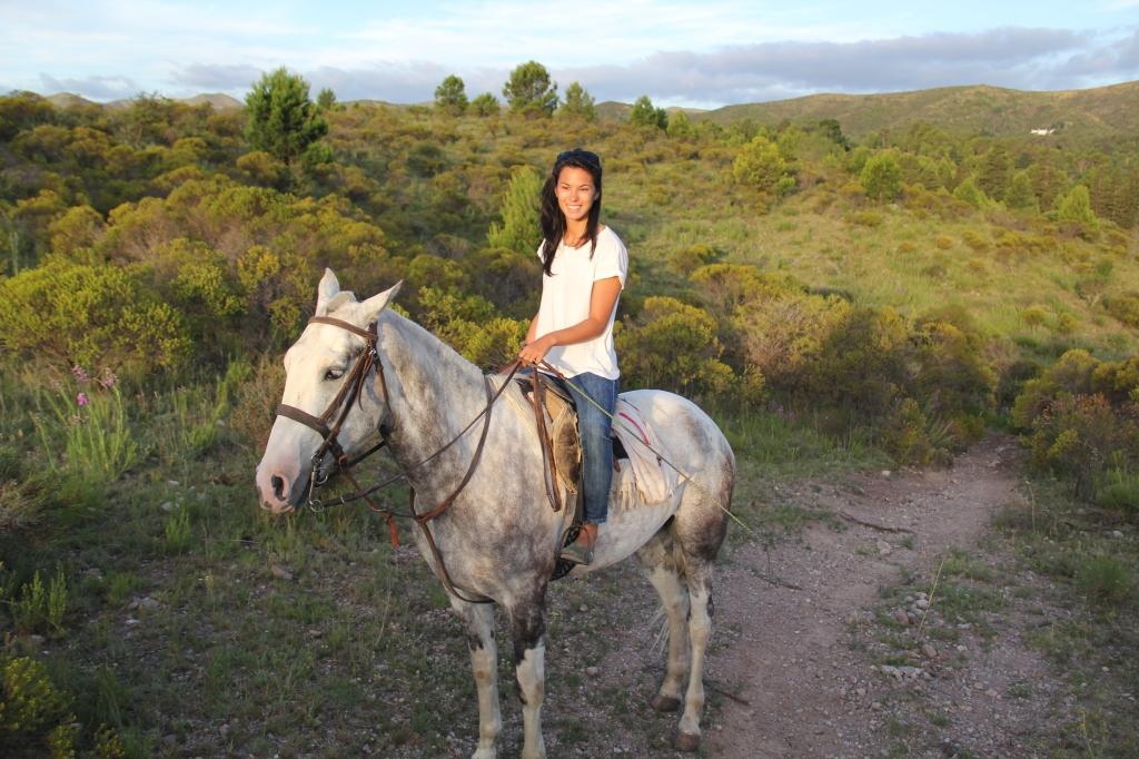 Horse riding in La Cumbre. Córdoba, Argentina